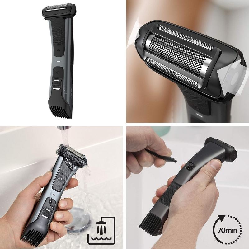 mejor afeitadora corporal para hombre