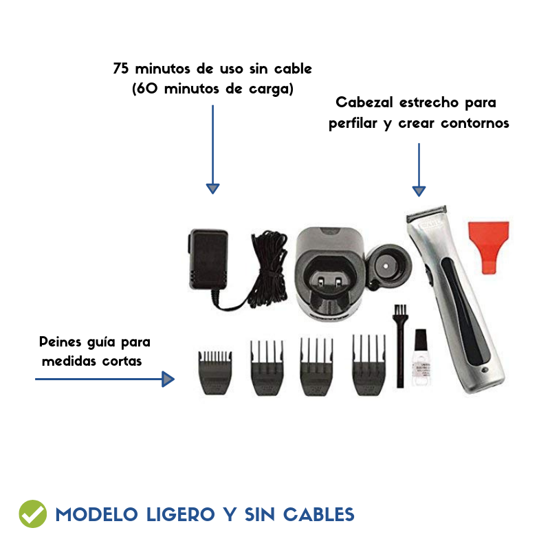 wahl sin cables