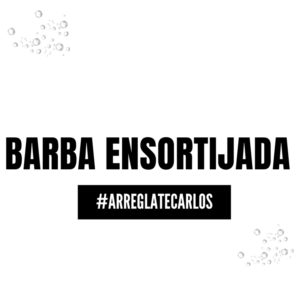 barba ensortijada