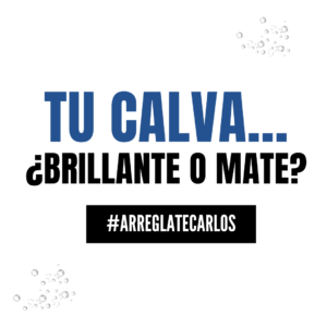 Batalla de calvos: Brillo Vs mate